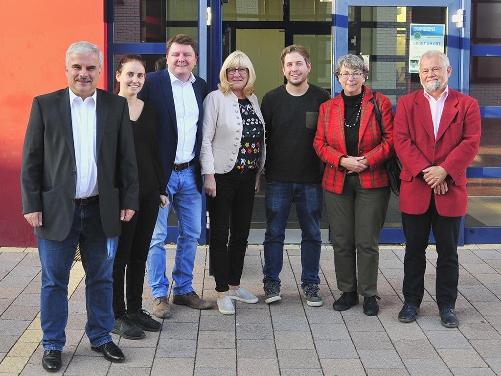 140 Besucher bei Kevin Kühnert und Marius Weiß!