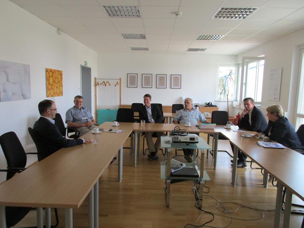 MdB Martin Rabanus bei der Firma BIOGRUND