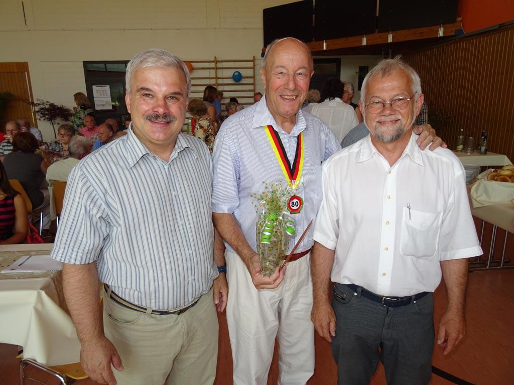 Manfried Weber wurde 80!