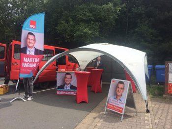 Auftakt des Bundestagswahlkampfes in Hünstetten